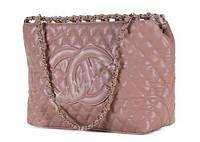 Сумка женская Chanel - V.I.P. (серо-розовая)