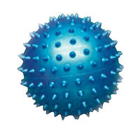 Мяч массажный для фитнеса 18см BA-3401 (резинa, 80гр, фиолетовый, синий, розовый