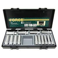 "Набор головок FORCE 4143 1/2"" 6-гр. глубоких 14 пр. (10-32 мм)"