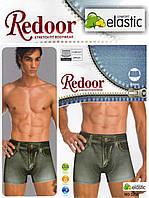 Трусы мужские боксеры х/б Redoor стреч под джинсовые
