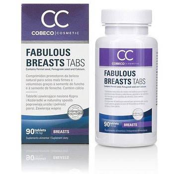 Таблетки для подтяжки и укрепления груди Cobeco Fabulous Breasts (90 tabs)