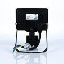 Світлодіодний прожектор BIOM 10W S5-SMD-10-Slim+Sensor 6200К 220V IP65, фото 2