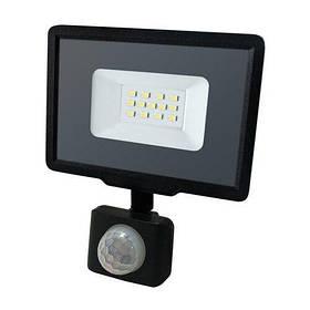 Світлодіодний прожектор BIOM 10W S5-SMD-10-Slim+Sensor 6200К 220V IP65