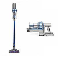 Мощный ручной беспроводной пылесос Cordless Vacuum Cleaner Max Robotics с контейнером вертикальный для дома