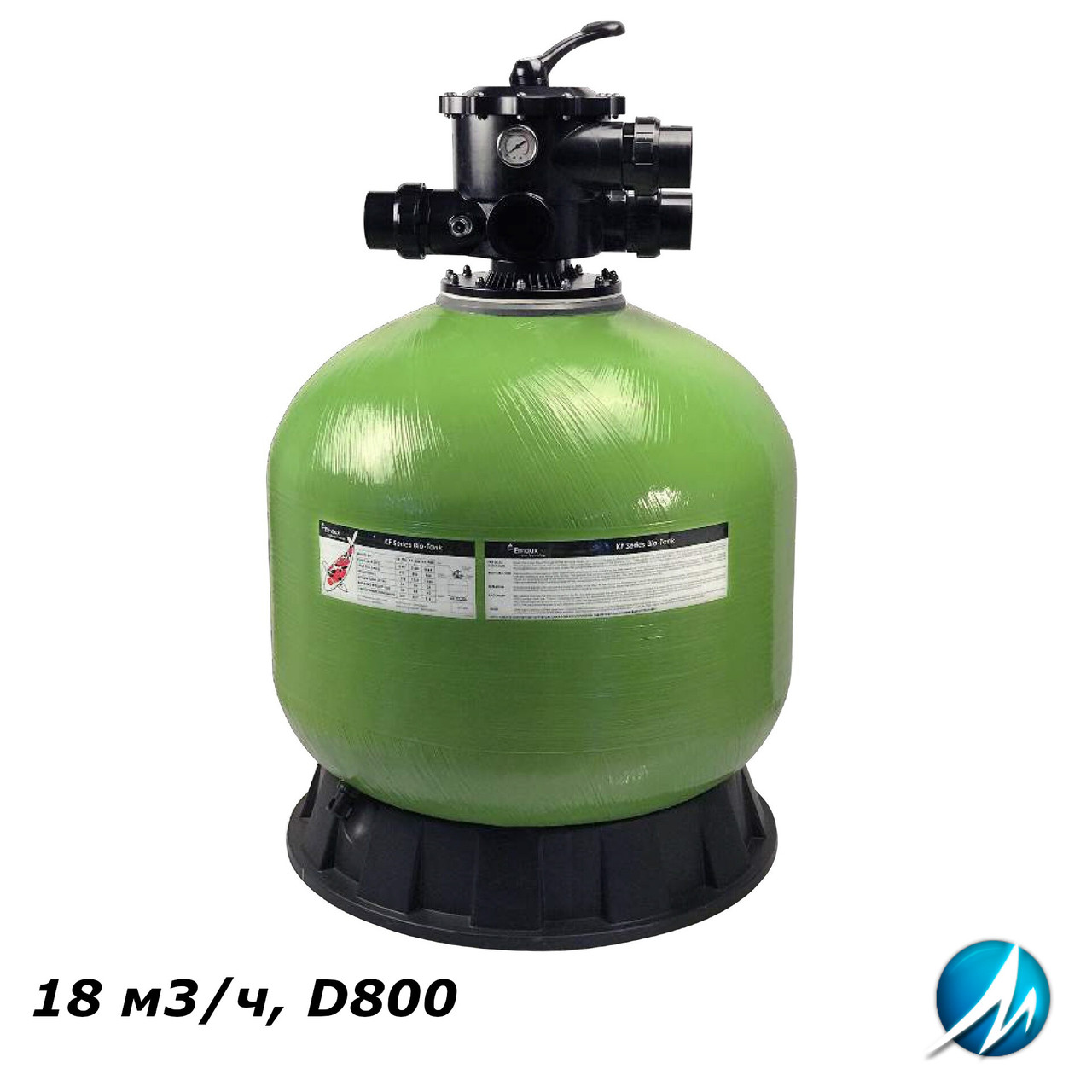 Фильтр Emaux LF800 (18 м3/ч, D800) для прудов