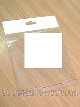 Пакет з європодвесом 22,5х8см +к/л