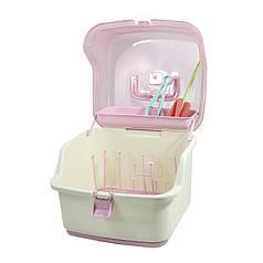 Органайзер-сушарка для пляшок і сумішей Bastbaby BS-8074 Pink універсальний