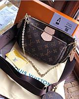 Сумка Луї Віттон жіноча через плече брендові сумки кроссбоди, фото 1
