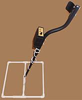 Недорогой глубинный металлоискатель Tracker PI-G  с катушкой 45 на 45 см