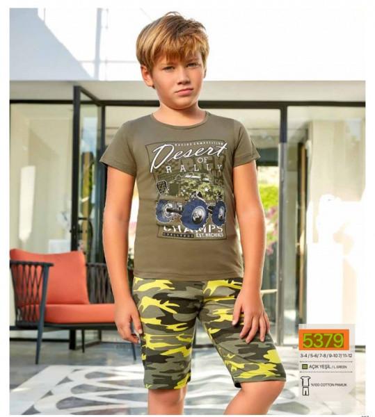 Комплект футболка и шорты для мальчика BERRAK 5379