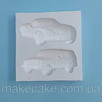 Силиконовый молд Авто набор №4 6.5х6.5 см