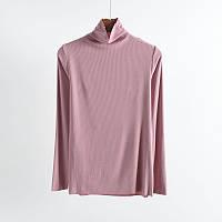 Лонгслів домашній жіночий Феєрія, рожевий Berni Fashion (XXL)