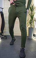 Мужские штаны зауженные цвет хаки / Украина