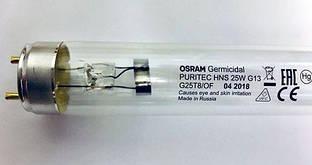 Бактерицидная лампа OSRAM PURITEC HNS 25W G13 T8 438 мм БЕЗОЗОНОВАЯ