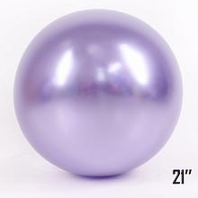 """Латексный шар гигант Сиреневый Жемчужина Brilliance 21 """"(52,5см) брак"""