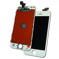 Apple Дисплей iPhone 5 + рамка і сенсор білий (копія AAA)