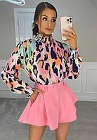 Жіночі стильні шорти з кишенями, фото 1