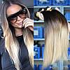 Натуральные Волосы Омбре Сolor 65 cm