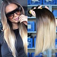 Натуральные Волосы Омбре Сolor 65 cm, фото 1