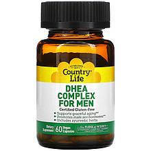 """Комплекс ДГЕА для чоловіків Country Life """"DHEA Complex for Men"""" (60 капсул)"""