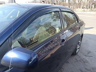 Дефлекторы окон Toyota Corolla (2007-2012)
