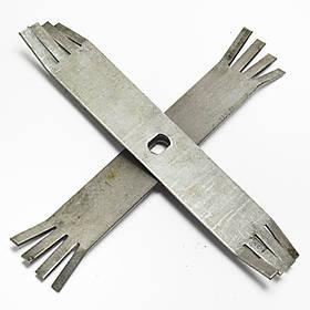 Комплект ножей для зернодробилки Икор-04 (старого образца)