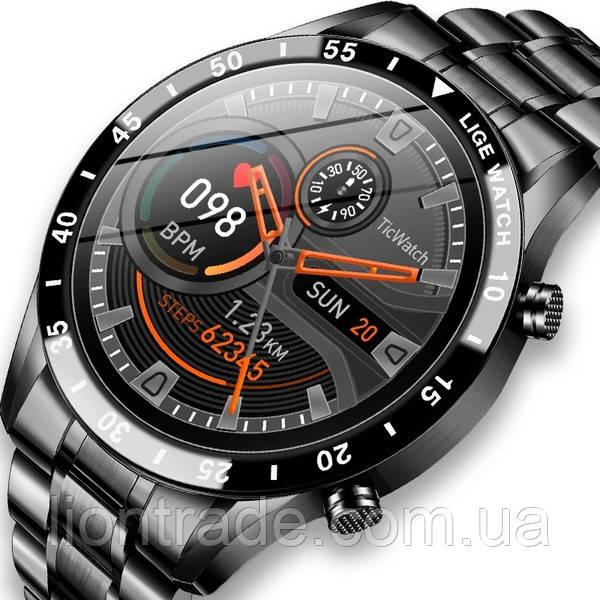 UWatch Смарт часы Smart Power Nano Silver