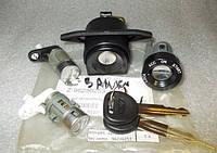 Комплект: Замок зажигания + личинки двери (2 шт) + замок багажника ( с ключами)  Ланос Хетчбэк