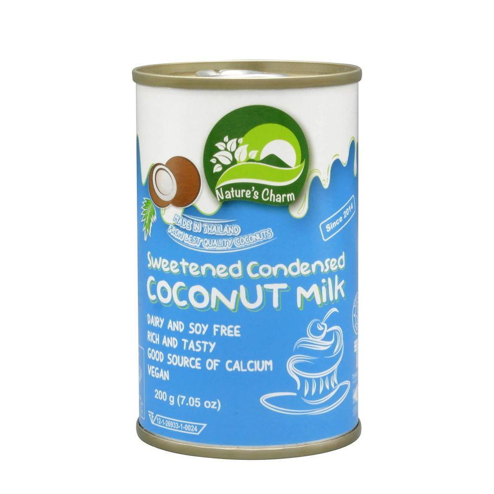 Кокосовое (веганское) сгущенное молоко Nature's Charm (Тайланд), 200 г