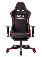 Крісло ігрове, геймерське - Infini System No.16 чорно-червоний