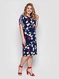 Сукня жіноча Дениз синє, фото 4