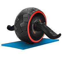 Колесо для пресу PowerPlay 4326 зі зворотним механізмом Чорно-червоне