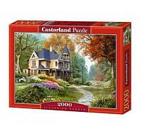 Пазлы castorland 2000 деталей  Викторианский сад
