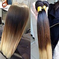 Натуральные Волосы Омбре Сolor 55 cm