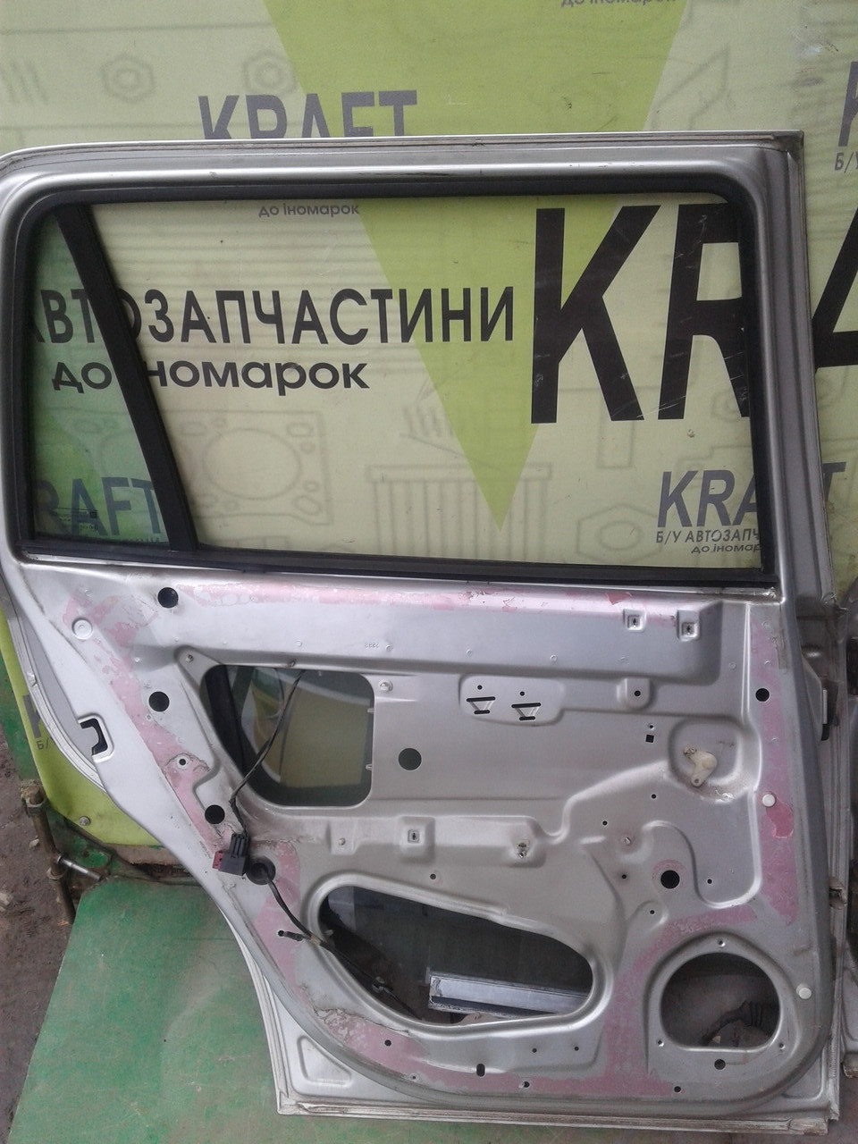 Б/у дверь задняя левая для Opel Astra G 2002 р.