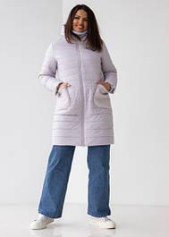 Куртки жіночі демизезонные видовжені