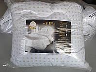 """Одеяло летнее холлофайбер микрофибра полуторное ТМ """"ZEVS"""" VIP 150 x 210 см белое"""