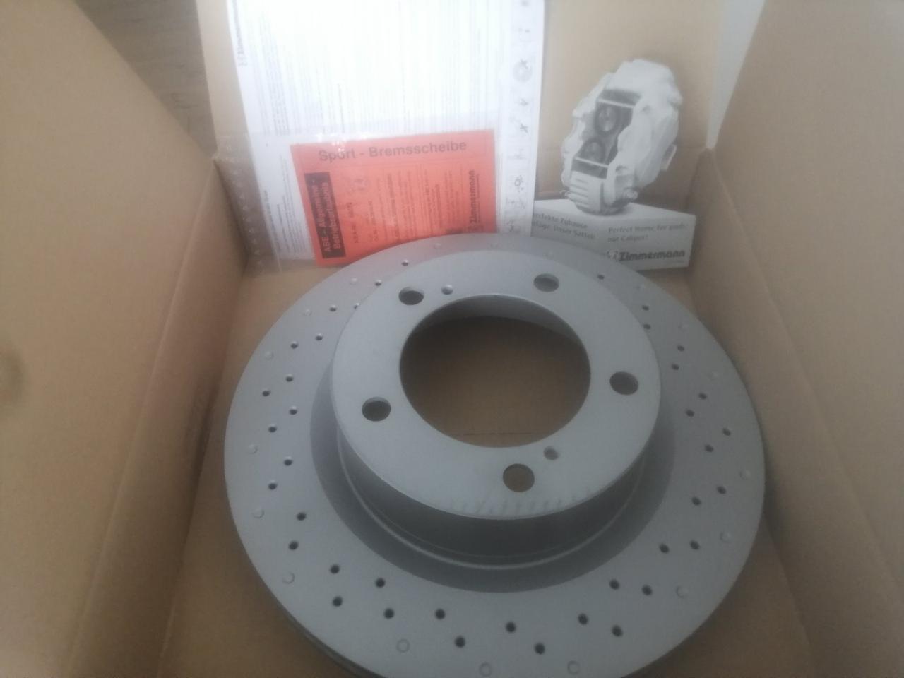 Передні гальмівні диски для Toyota Land Cruiser 200/Lexus LX 07- (340х32) (з покритий) (з отворів у землі) (вент)