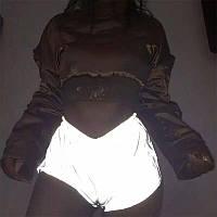Жіночі спортивні шорти світловідбиваючі
