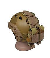 Подсумок для батарейного блока на шлем Multicam