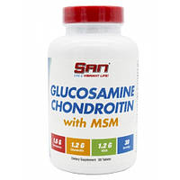 Для суставов и связок SAN Glucosamine+Chondroitin+MSM  90tabs.