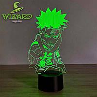 3D ночник-светильник Наруто