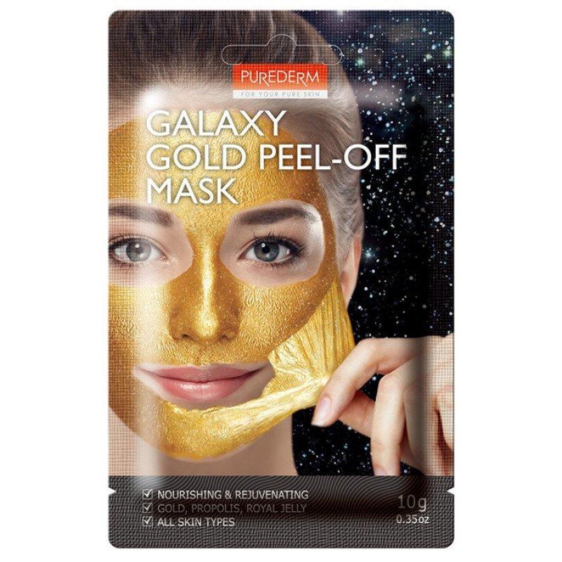 Омолаживающая маска-пилинг Purederm (золотая) Galaxy Gold Peel-Off Mask