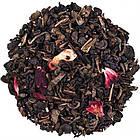 Зеленый китайский чай Gunpowder Земляника со сливками Space Coffee 250 грамм, фото 2
