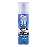 "Ароматизатор воздуха для машины и дома с ароматом Спорт 75мл X Aero ""Sport"" (NX06509)"
