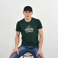 Чоловіча футболка з накаткою Adidas (репліка) пляшка