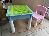 Ігровий столик і стільчик з конструктором 3035, фото 4