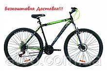 """Велосипед ST 29"""" Discovery TREK AM DD рама-21"""" чорно-зелений"""