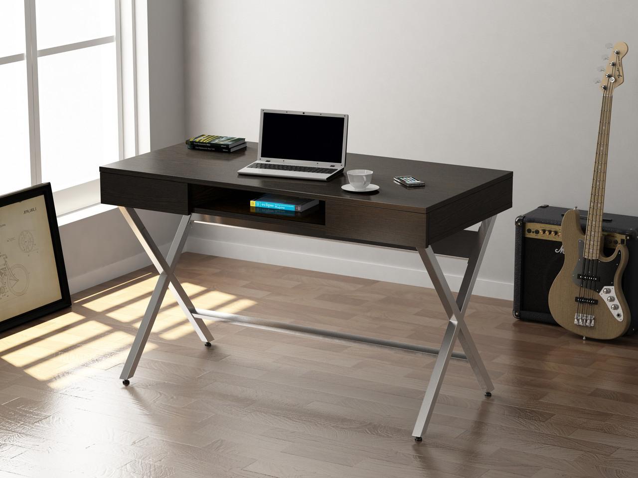 Письмовий стіл Loft design L-15 Венге Корсика