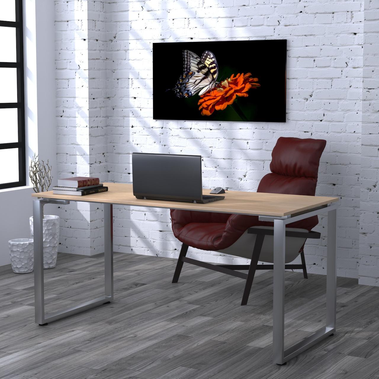Письмовий стіл Loft design Q-160 Дуб Борас Стільниця 16 мм